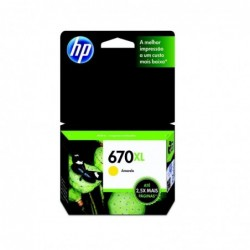 CART-INK-ORIG-HP-670XL-CZ120AL-AMARILLO