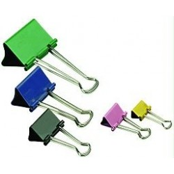 BINDER-CLIPS-COLOR-ONIX-25mm-x12u