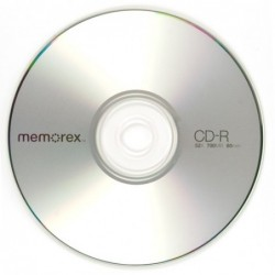 CD 80 MIN - 700MB 52X MEMOREX