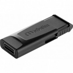 PENDRIVE VERBATIM SLIDER BLACK -  32GB