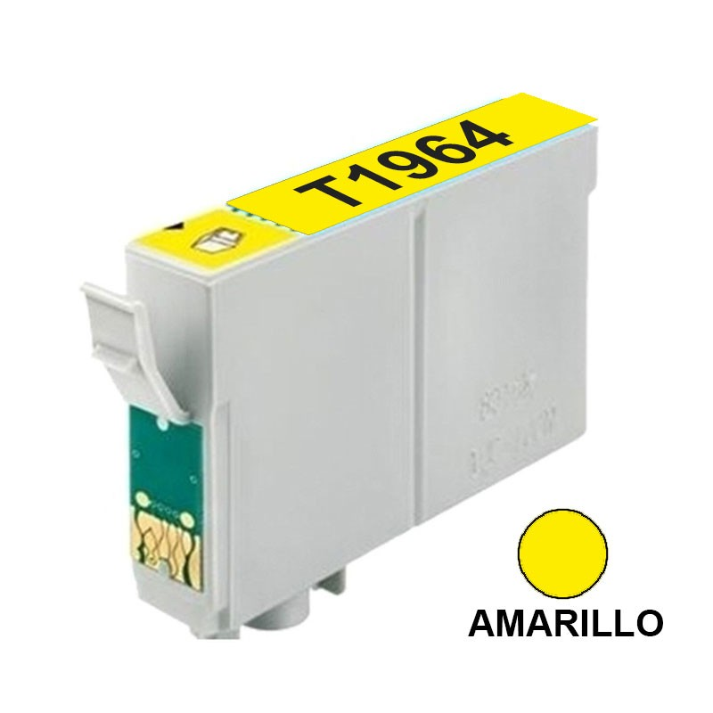 CART INK ALT EPSON 195 196 T196420 AMARILLO