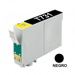 CART INK ALT EPSON 73 T073120 NEGRO