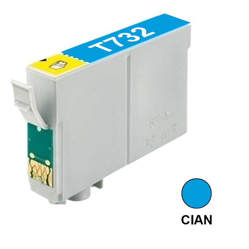 CART INK ALT EPSON 73 T073220 CIAN