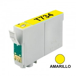 CART INK ALT EPSON 73 T073420 AMARILLO