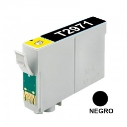 CART INK ALT EPSON T2971 NEGRO XP231/431