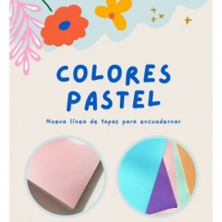 TAPA A4 POLICOVER ROSA PASTEL x50