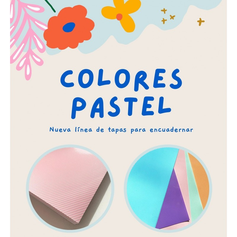 TAPA A4 POLICOVER VERDE PASTEL x50